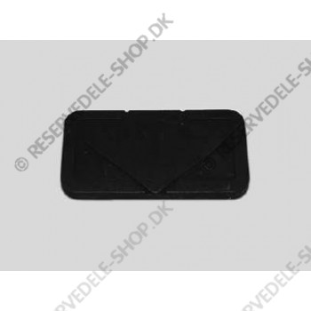 pad rubber direction