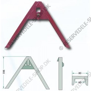 A-frame linkage, cat. 1 - 2 - 3