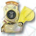 compressed air connector head 2 yellow M16x1,5
