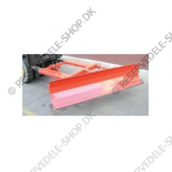 adjustable snow plough 1800