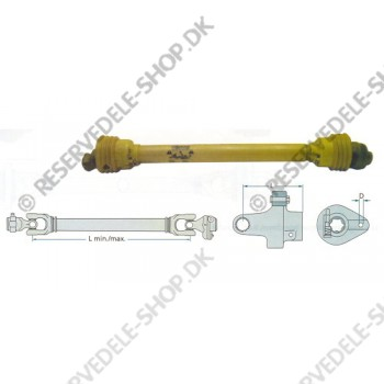 p.t.o. drive shaft F24 1010 shear bolt coupling 2900