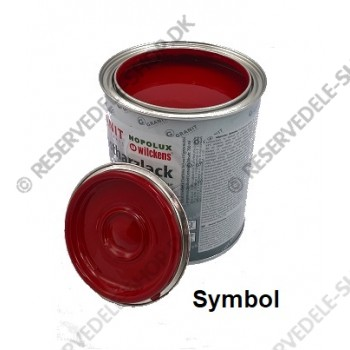 paint machine Linde red