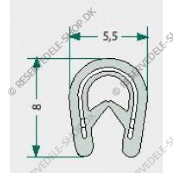 sealing rubber  0,8-1,5mm