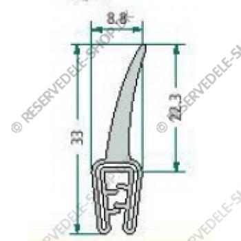 sealing rubber  1-2,5mm
