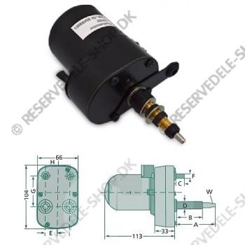 wiper motor 85gr 62-45mm