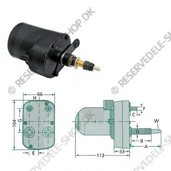 wiper motor 110gr 61-46mm