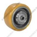 support wheel PU ø 140x60/75-15 mm